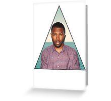 Frank Ocean Greeting Card