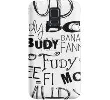 JUDY - THE name game Remake Black version Samsung Galaxy Case/Skin