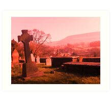 Pendle Hill Art Print