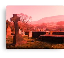 Pendle Hill Canvas Print
