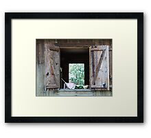 The Kitchen Window Framed Print