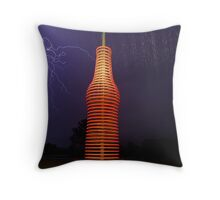 Lightnin' in a Bottle Throw Pillow
