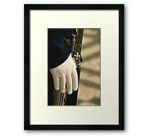 Glove Framed Print