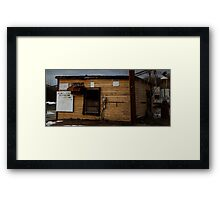 0619 - HDR Panorama - Mineworks 6 Framed Print