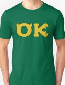 Oozma Kappa - monsters university frat  T-Shirt