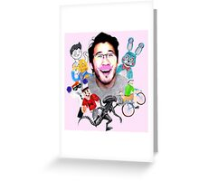 Markiplier 2014 Highlights Greeting Card