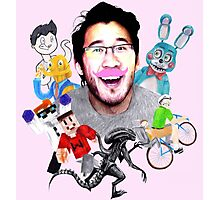Markiplier 2014 Highlights Photographic Print