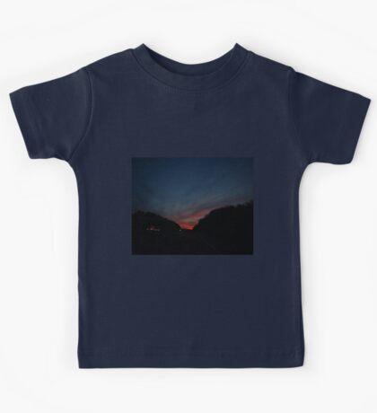 0621 - HDR Panorama - Towards Sunset Kids Tee