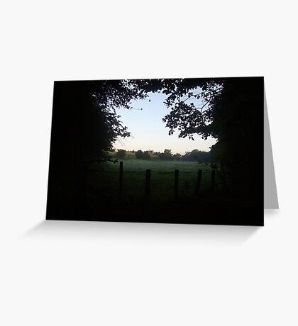 Scottish countryside Greeting Card
