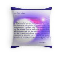 Sweet Provisions Throw Pillow