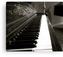 Liberace Piano Canvas Print