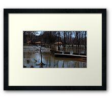 0707 - HDR Panorama - Park Flood 3 Framed Print