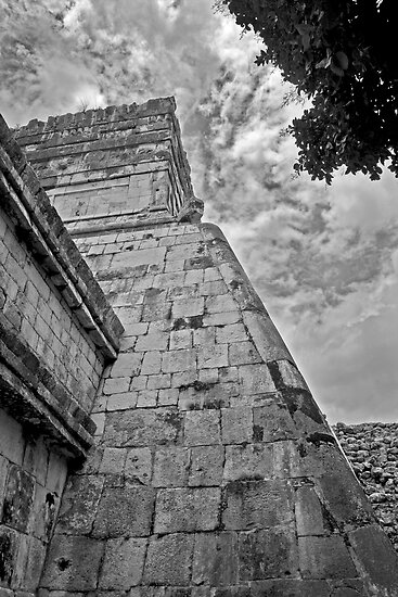 Mayan Temple by deahna