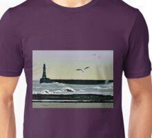 Roker Pier, Sunderland. Unisex T-Shirt