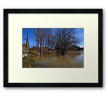0711 - HDR Panorama - Park Flood 6 Framed Print