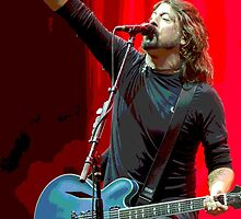 Dave Grohl - The Point Colour by rikovski