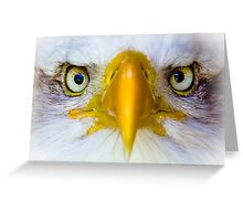 Look into My EYES! Greeting Card