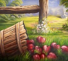 Forgotten Apples by Randy Johnson