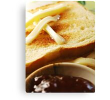 toast Canvas Print