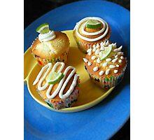 Lemon Lime Cupcakes Photographic Print