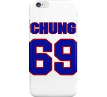 National football player Eugene Chung jersey 69 iPhone Case/Skin