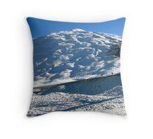 Winter on the Crown Range Throw Pillow