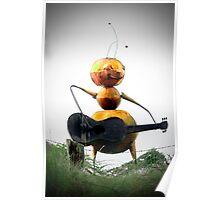 noisy bee Poster