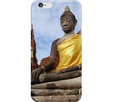 Ayutthaya Sitting Buddha iPhone Case/Skin