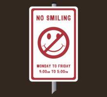 No Smiling by Bryan Davidson