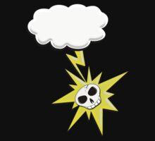 Lightning Skull Tee Kids Clothes
