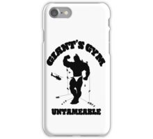 Giant's Gym: Untameable iPhone Case/Skin