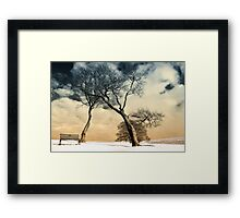 Winter Warriors Framed Print