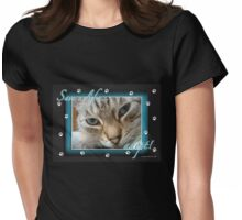 Save a life... Adopt! Womens Fitted T-Shirt