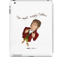 Not small, simply hobbit iPad Case/Skin