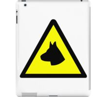 Guard Dog Symbol iPad Case/Skin