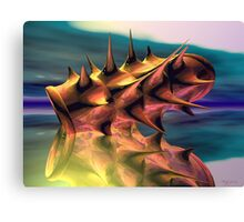 Pointed Reflection Canvas Print
