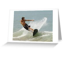 Surfer Greeting Card