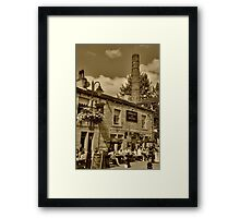 Shoulder of Mutton Hebden Bridge Framed Print