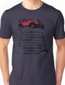 Jeep Wedding Vows Unisex T-Shirt