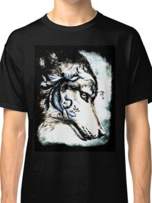 Wolf with Blue Eyes Classic T-Shirt