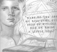 Upcoming: Dean Winchester - Raise A Little Hell. by teelecki