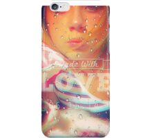 Girlwithcat iPhone Case/Skin