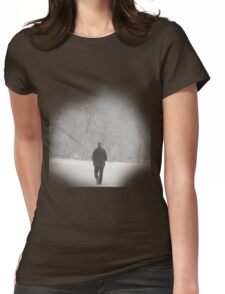 Winter Woods Womens Fitted T-Shirt