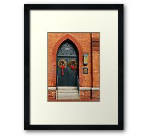 Parrish House, Annapolis MD Framed Print