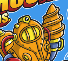Super Shock Bros 2 Sticker Sticker