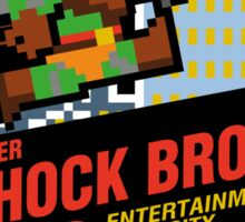 Super Shock Bros Sticker Sticker
