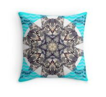 Hypnocat Throw Pillow