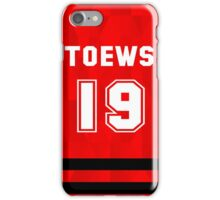 Jonathan Toews - Chicago Blackhawks iPhone Case/Skin