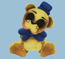 Chibi Golden Freddy Bear One Piece - Short Sleeve