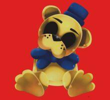 Chibi Golden Freddy Bear One Piece - Long Sleeve